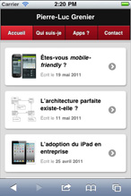 Blogue mobile